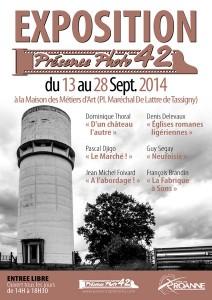 Exposition Presence Photo 42 2014 - Maison des Métiers d'Art à Roanne